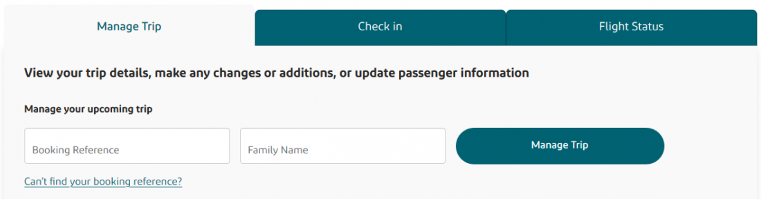 Aer Lingus Booking Management