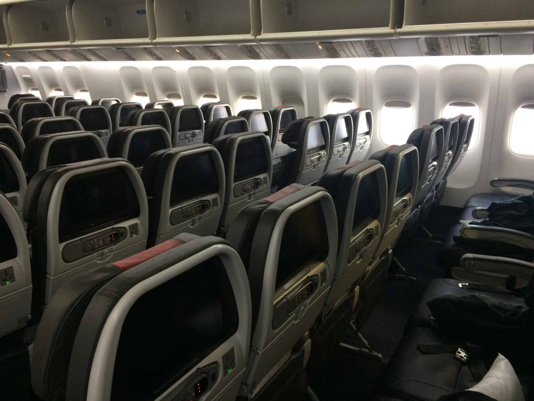 American Airlines Economy Cabin II