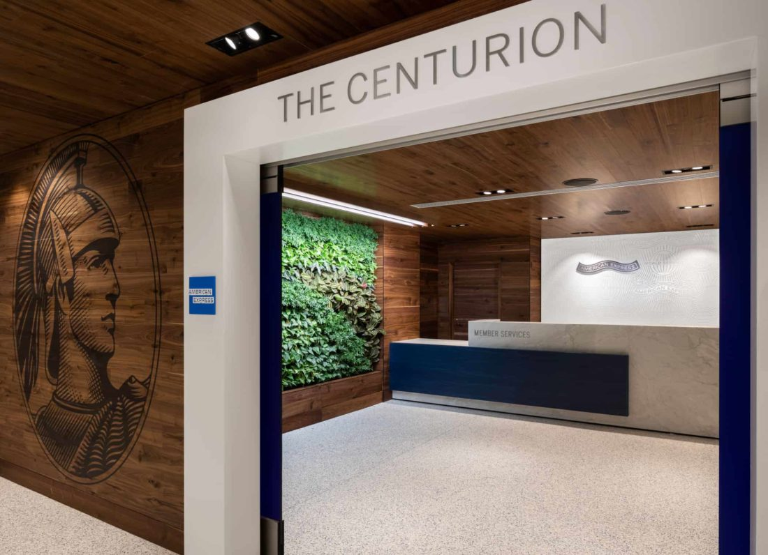 Amex Centurion Lounge Los Angeles LAX