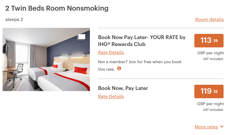 Book Now Pay Later London