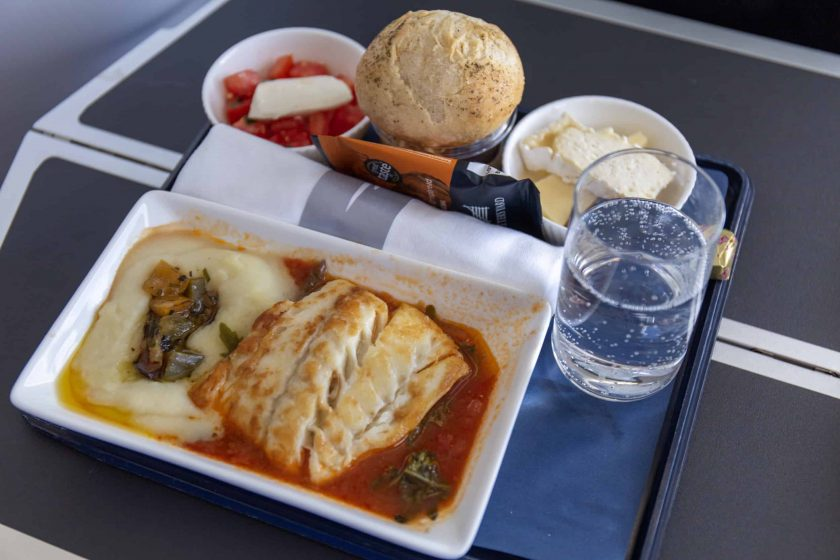 British Airways Club Europe Meal Cod