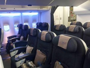 British Airways Premium Economy Seat
