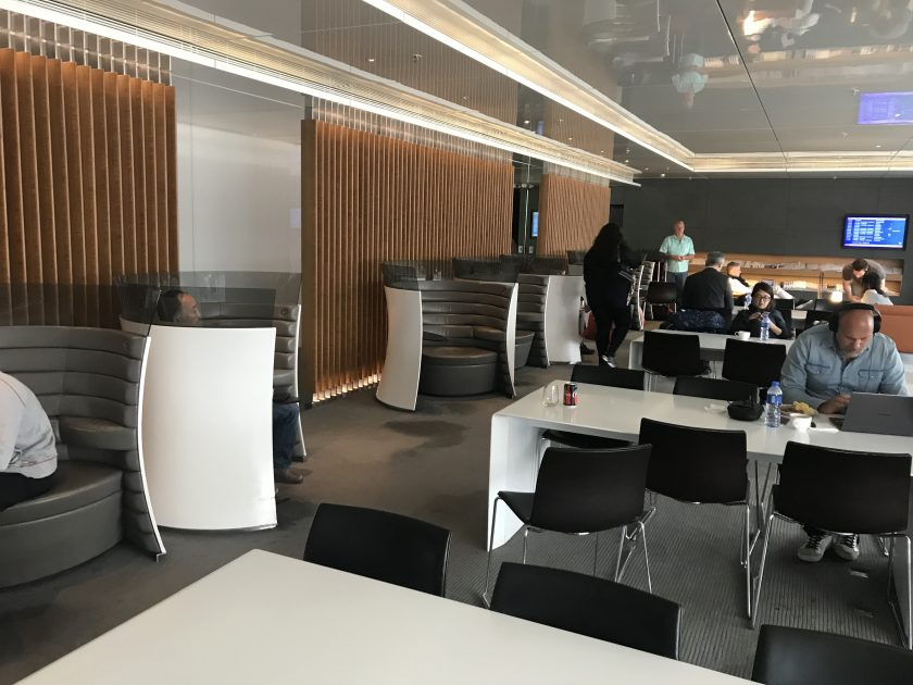 Cathay Pacific Business Class Review Lounge The Wing 1