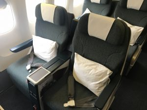 Cathay Pacific Business Class Review Seat