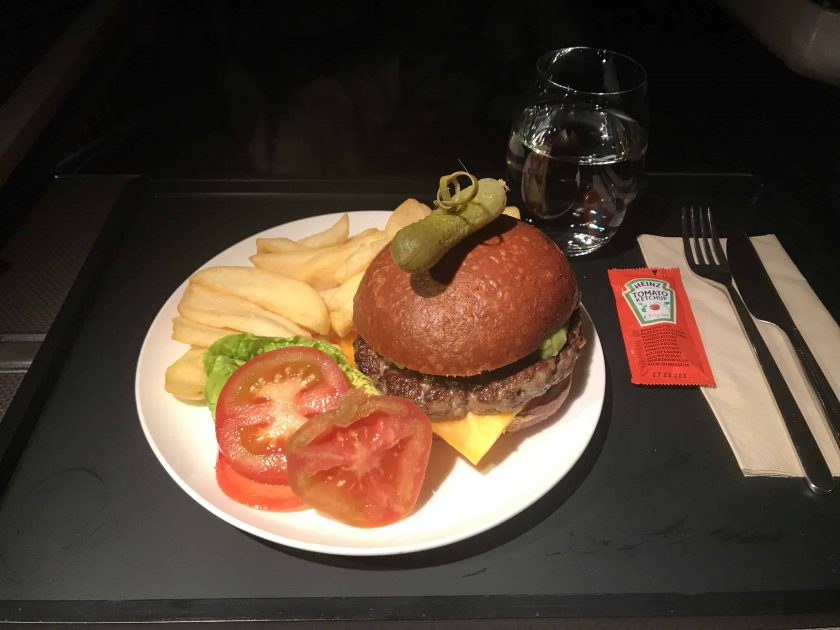 Cathay Pacific Review FRA HKG C Essen 2 1 Burger