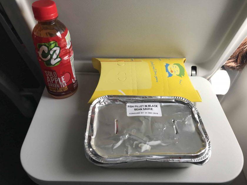Cebu Pacific Review Food Unopened