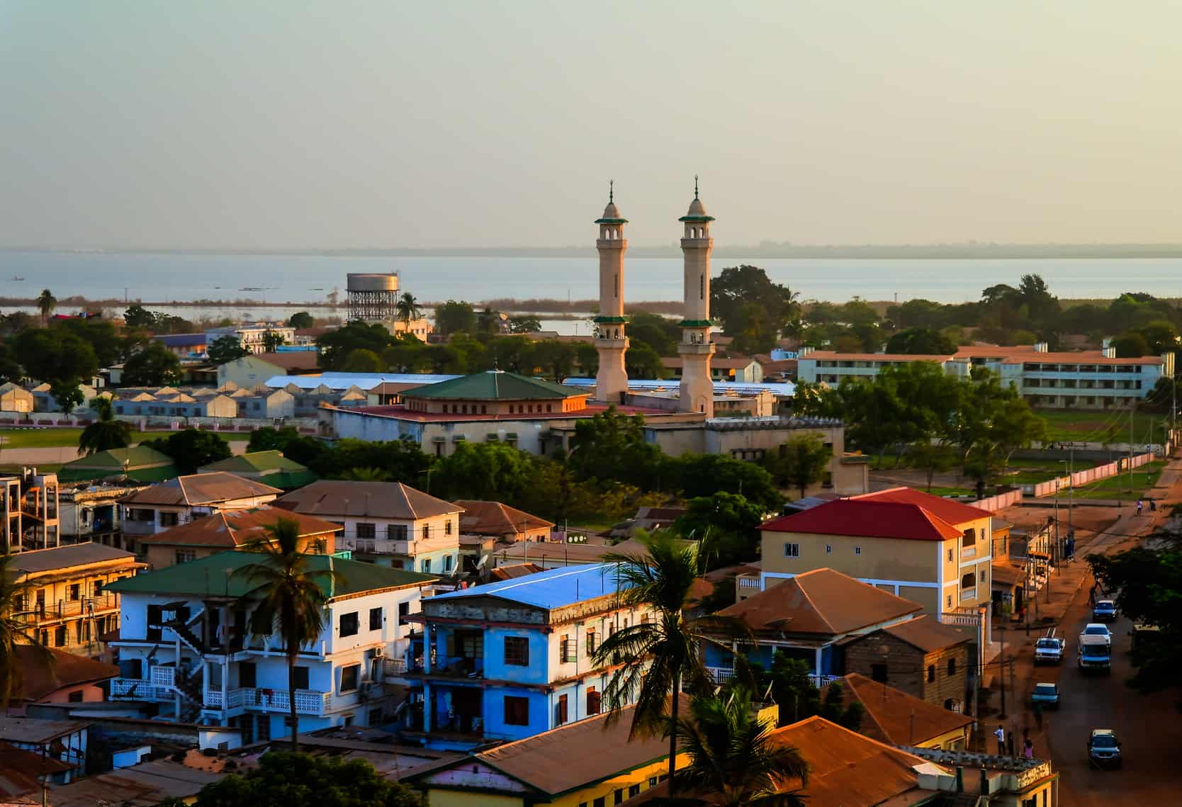 Banjul Gambia 252 From Amsterdam With Tap 337 With