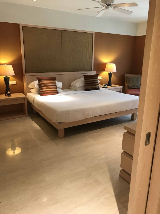 Conrad Bali Review Suite Bed more than King