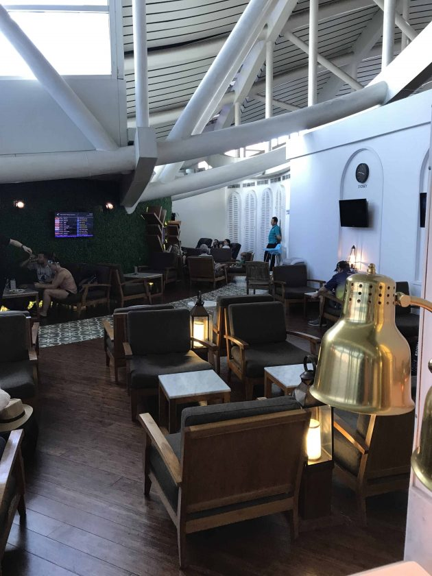 EVA Airways Medium Haul Business Class TG Lounge 3