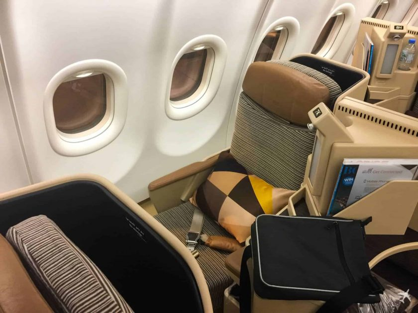 Etihad Airways Business Class Boeing 777 Seat