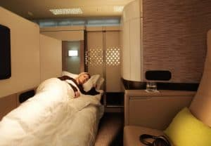 Etihad Apartment Bed A380