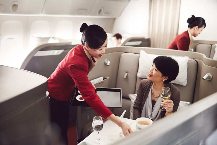 First Class Cathay Pacific