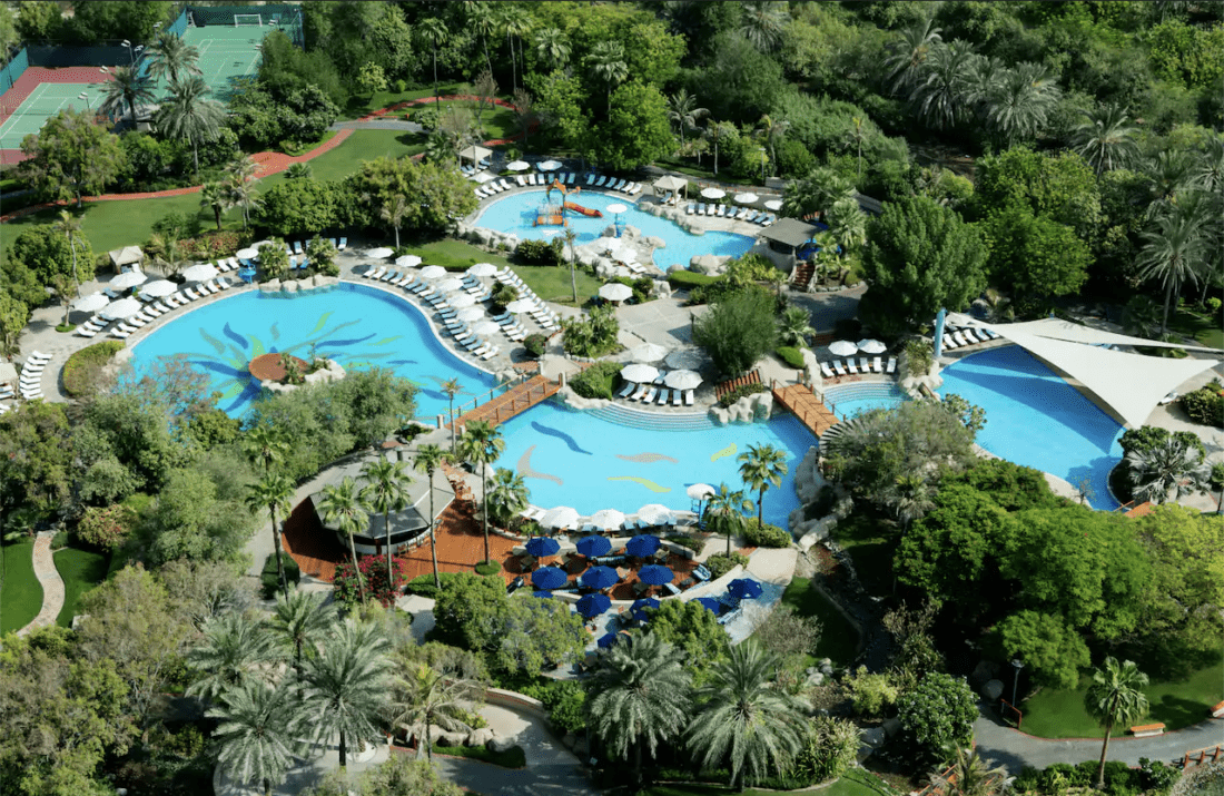 Grand Hyatt Dubai Outdoor Pool