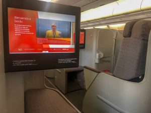 Iberia Business Class Monitor Safety Video