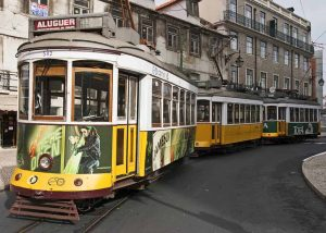 Lissabon cable car
