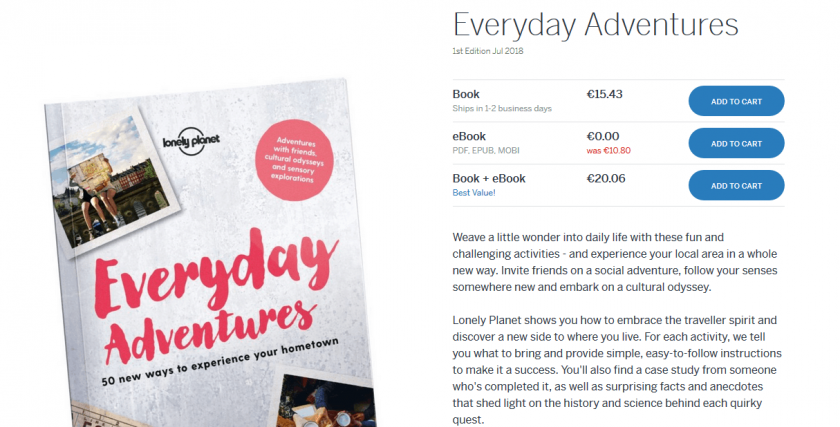 Lonely Planet Free eBook