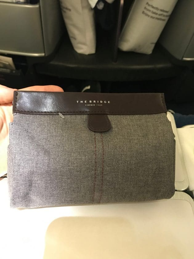 Lufthansa Business Class Amenity Kit 1