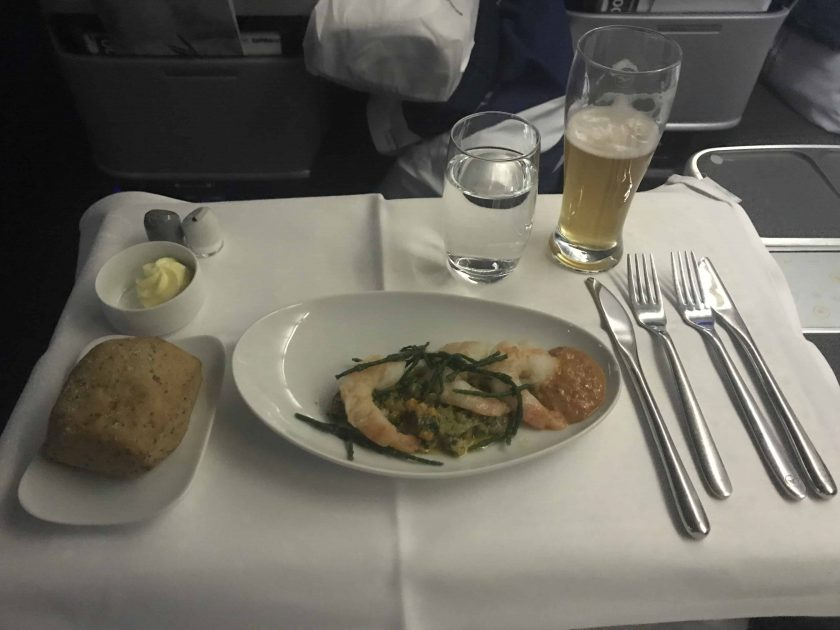 Lufthansa Business Class Food Starter