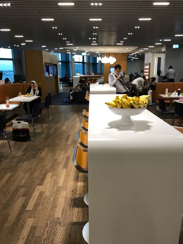 Lufthansa Business Lounge Scenario 1.1.1