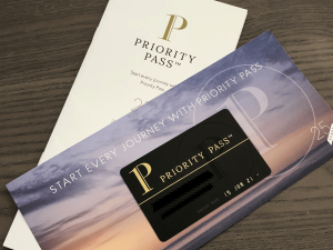 Priority Pass Welcome Kit