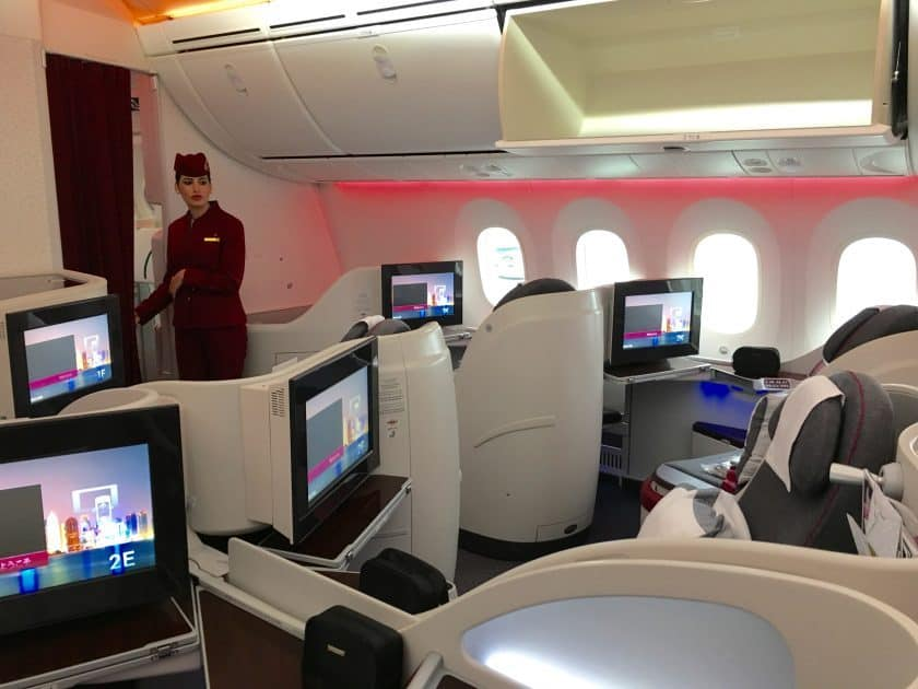 Qatar Airways Business Class 840x630
