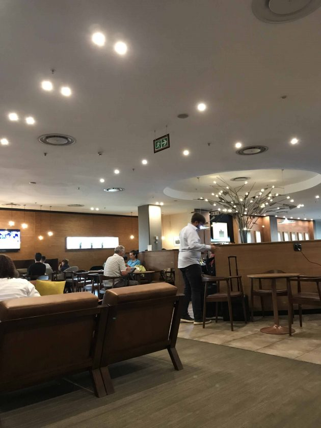 SWISS Business Class Review Aspire Lounge 3