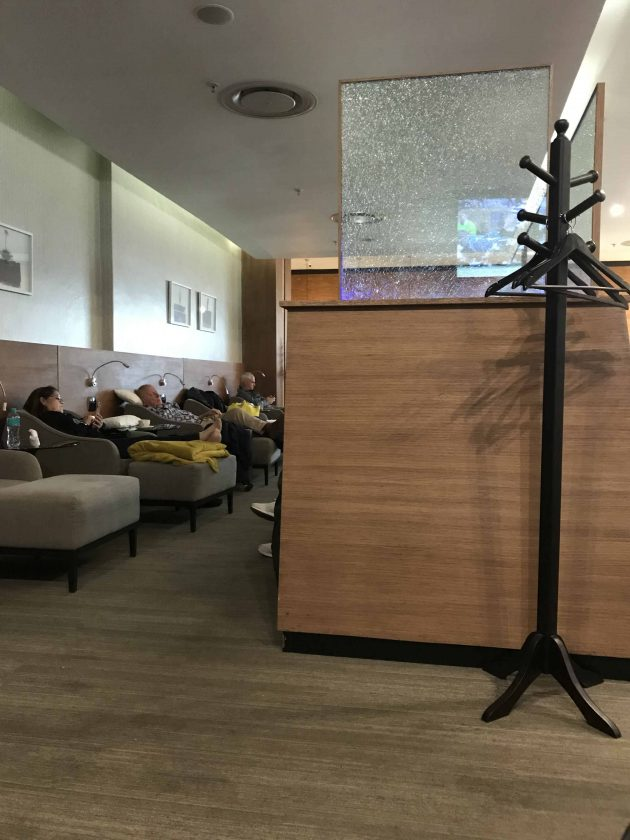SWISS Business Class Review Aspire Lounge 4