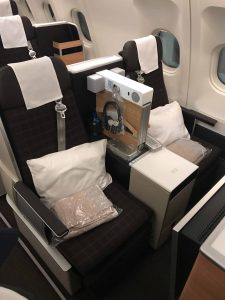 SWISS Business Class Review Seat 1.1