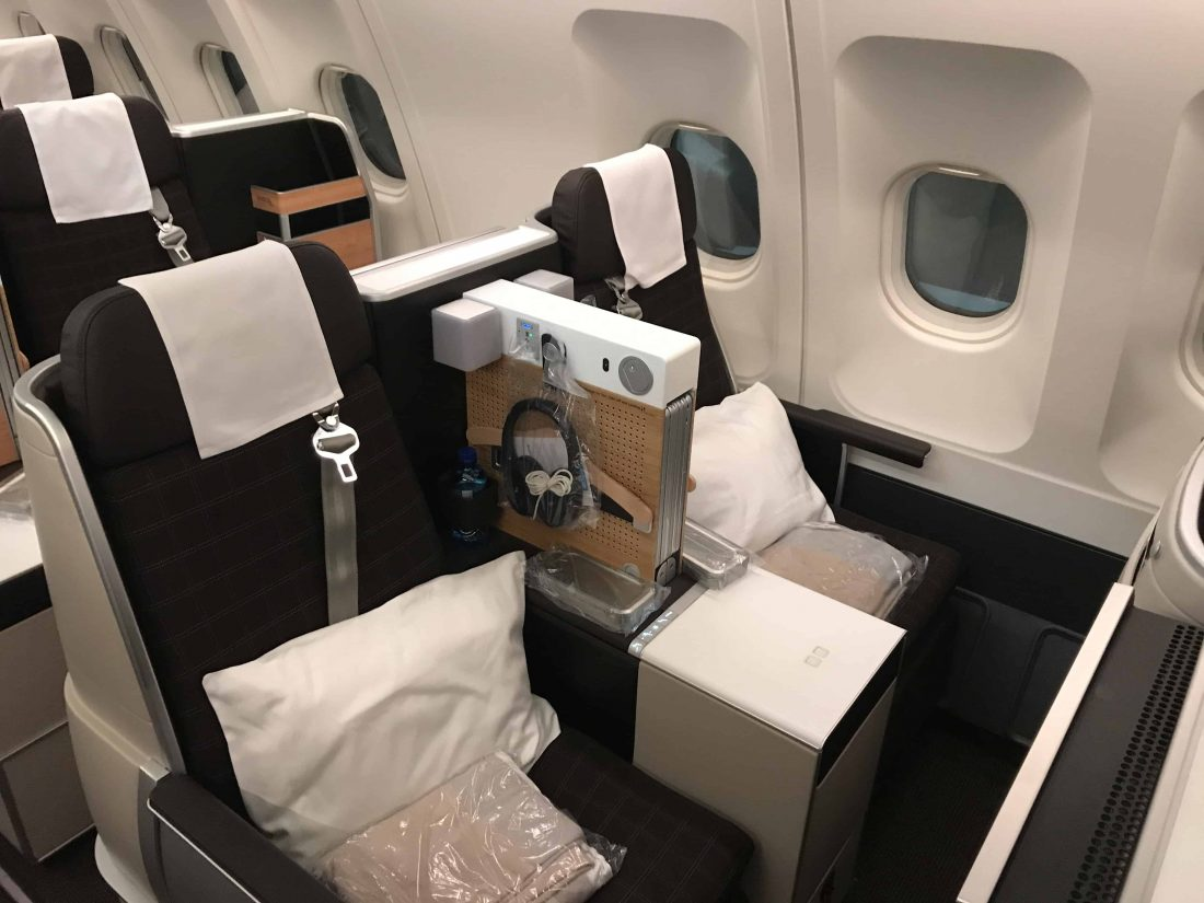 SWISS Business Class Review Seat 1.2
