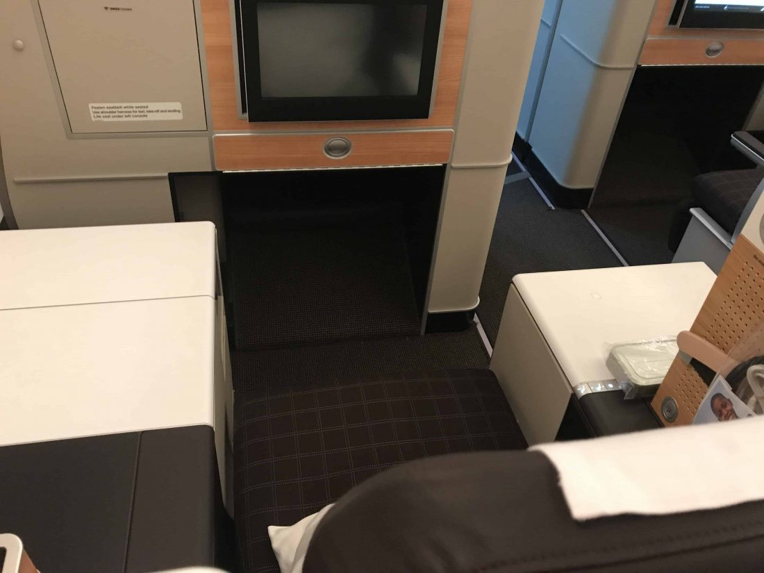 SWISS Business Class Review Throne Seat 2