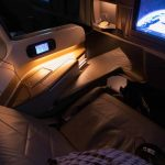 Singapore Airlines A350 Business Class Seat Lighting