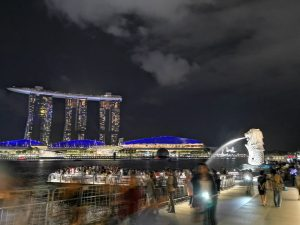 Singapore MBS and Merlion