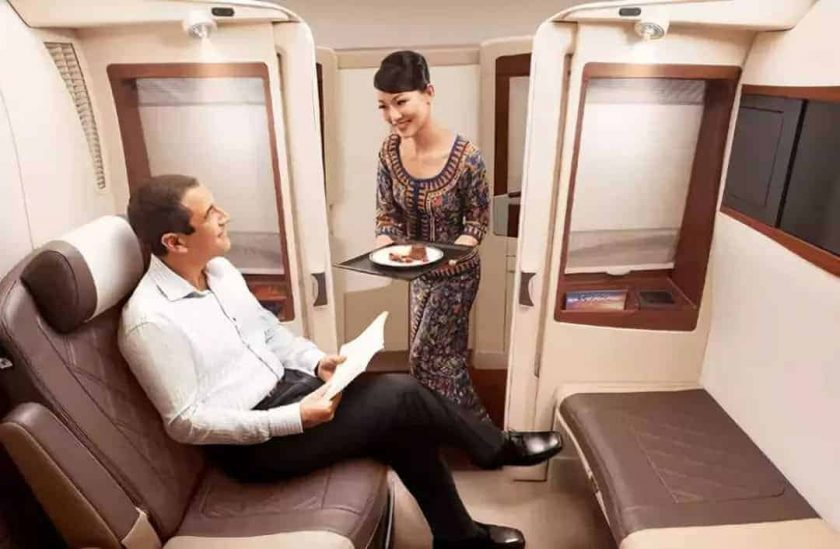 Singapore old Suites A380