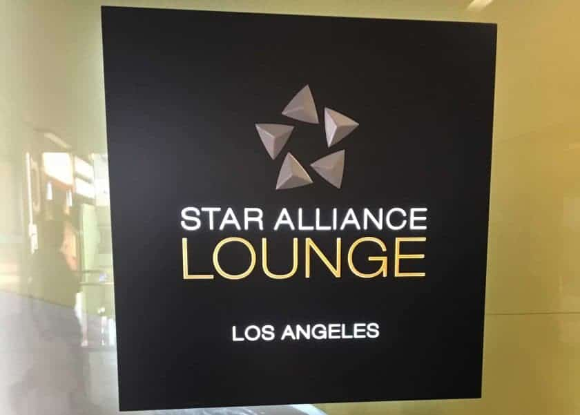 Star Alliance Lounge LAX