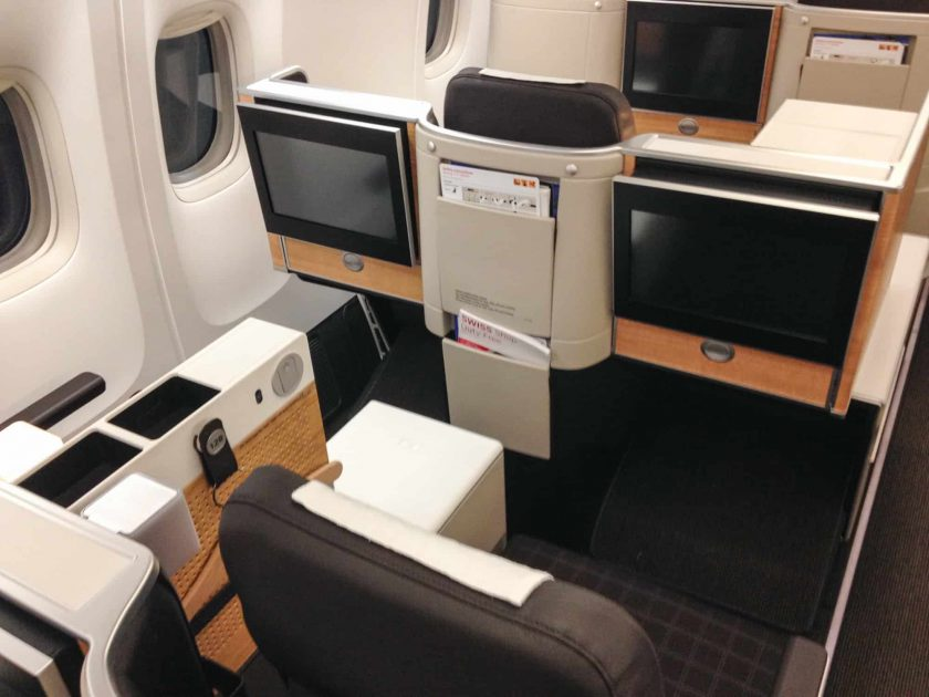 Swiss 777 Business Class Double