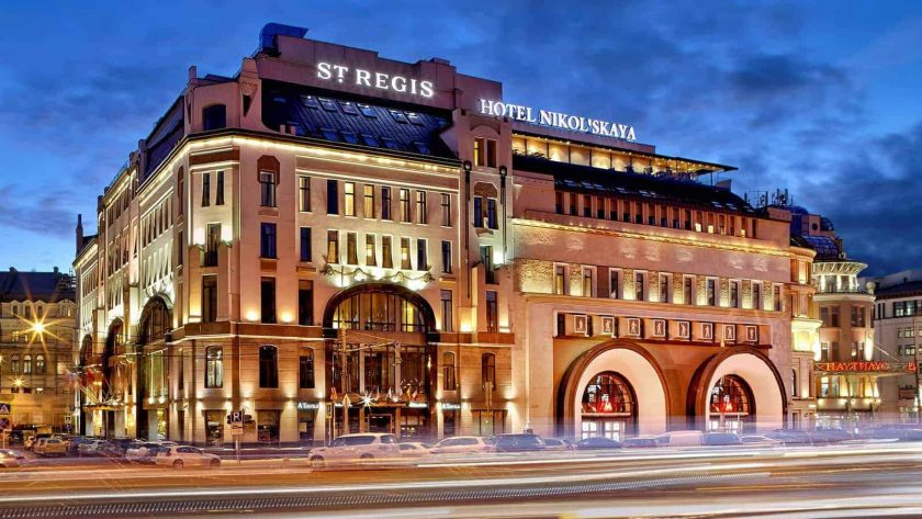 The St. Regis Moscow Hotel
