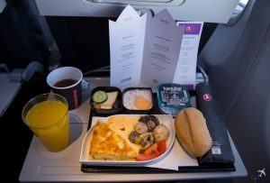 Turkish Airlines Economy Class Breakfast