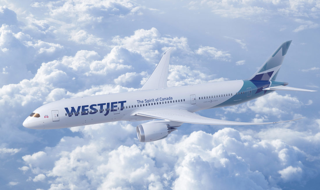 WestJet 787 dreamliner big