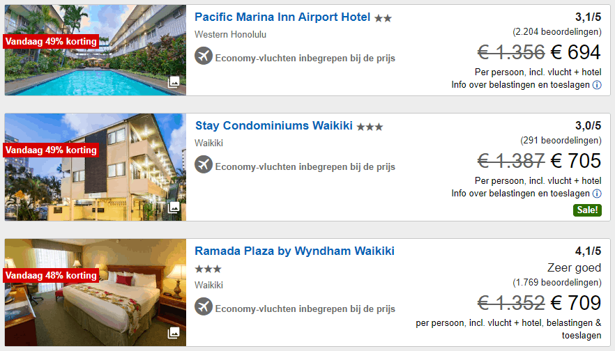 expedia honolulu hotels