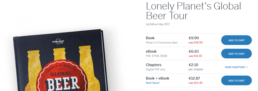 lonely planet beer
