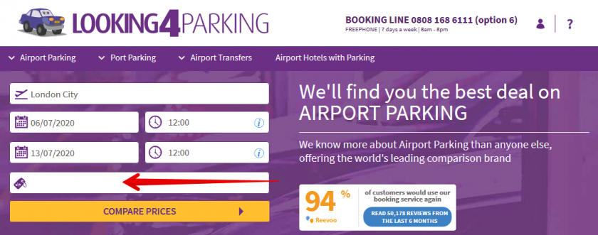 looking4park coupon I 1