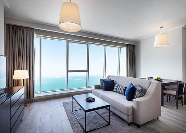 Pattaya one bedroom apartment sea view 640x457