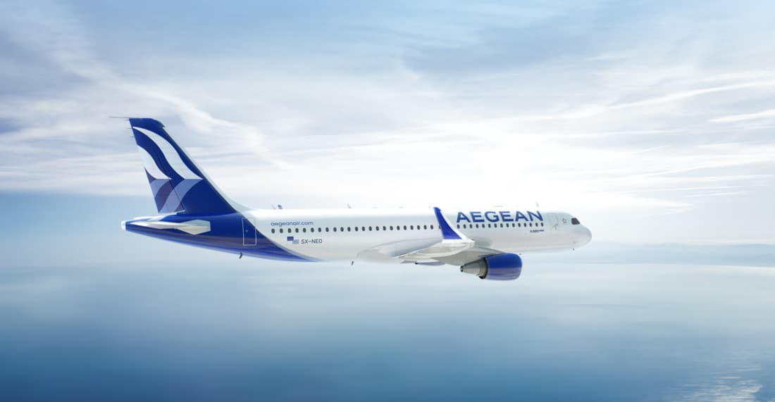 Aegean Airlines Airbus A320 Neo