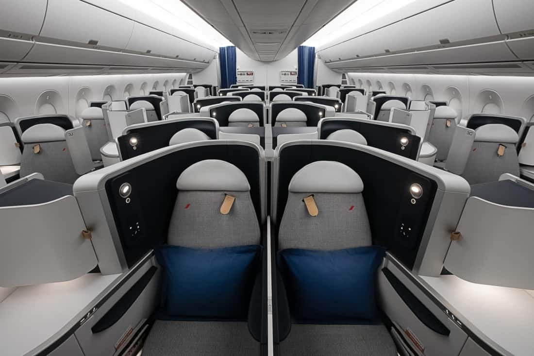 Air France Business Class Airbus A350
