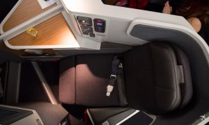 American Airlines Business Class Sitz