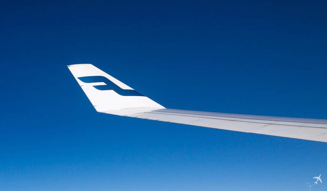 Finnair Wingtip