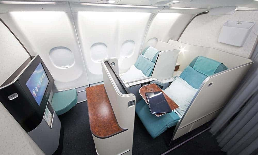Korean Air First Class Sleeper
