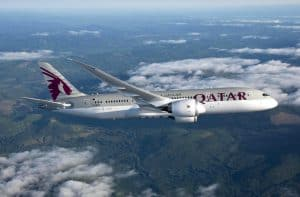 Qatar Airways Boeing 787 InFlight