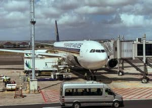 Singapore Airlines A330 Gate