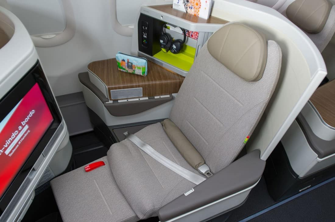 TAP Business Class Airbus A330 Neo